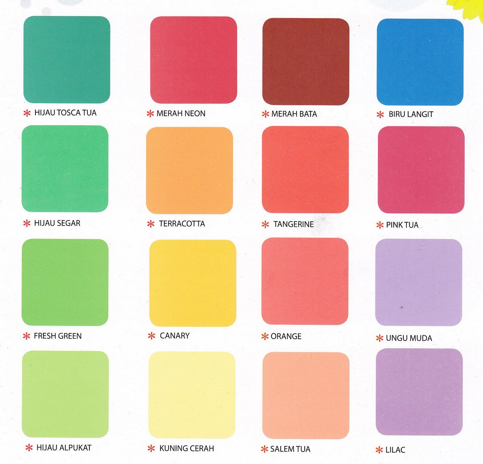 42 Katalog Warna  Cat  Tembok Weldon  Simple Dan Minimalis